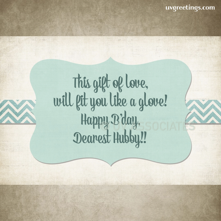 For a gift of love that would definitely fit like a glove