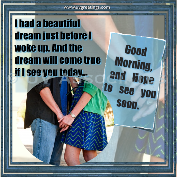Good Morning Love - Romantic Good Morning Message