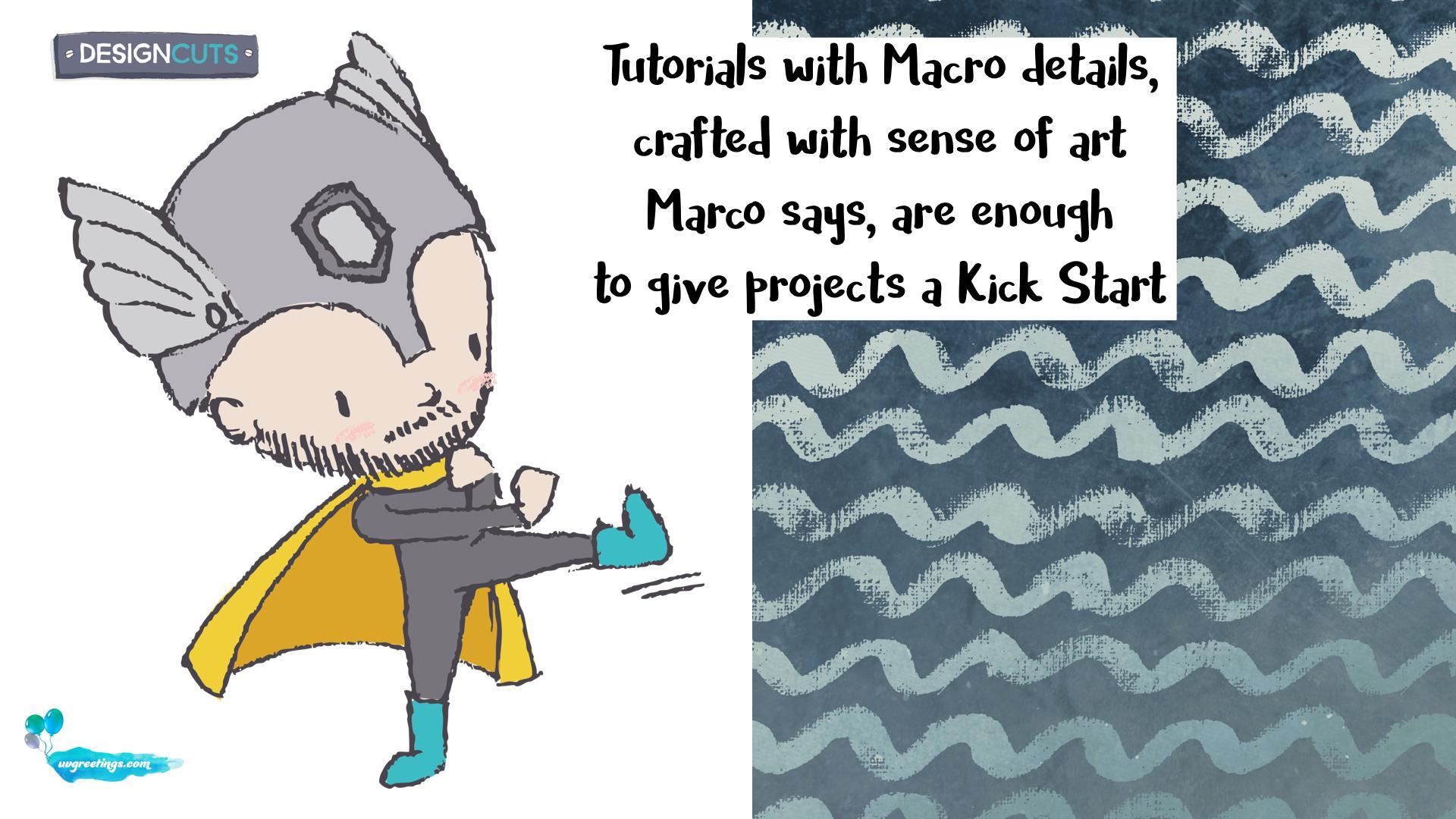 Marco - Design Cuts B'day Card