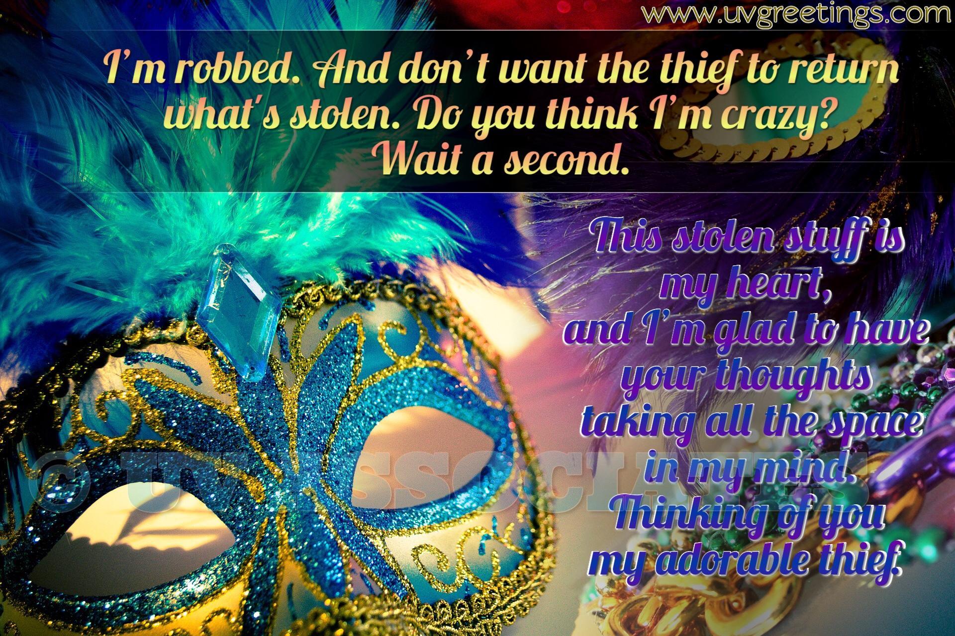 Adorable Thief, Bright mask, Stolen Heart