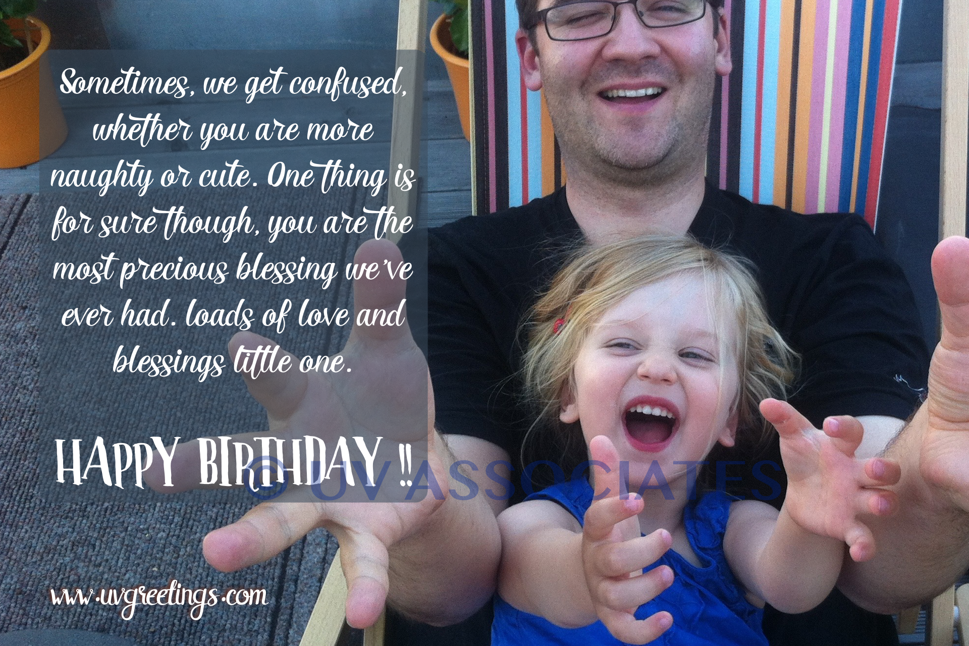 Funny Birthday ECard For A Daughter