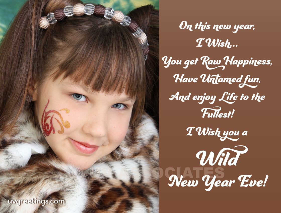 Have a Wild New Year Eve eCard