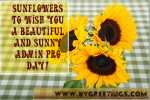 Administrative Professionals' Day® eCard - Sunflowers