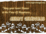 Merry Christmas - Dance to the Tune of Happiness
