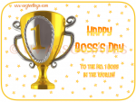 Happy Boss's Day to a Boss who is No. 1