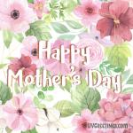 Floral Pink eCard for Mother's Day